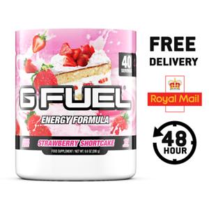 57d04bc26590 Details about G Fuel Strawberry Shortcake Tub (40 Servings) - UK SELLER -  OFFICIAL EU GFUEL