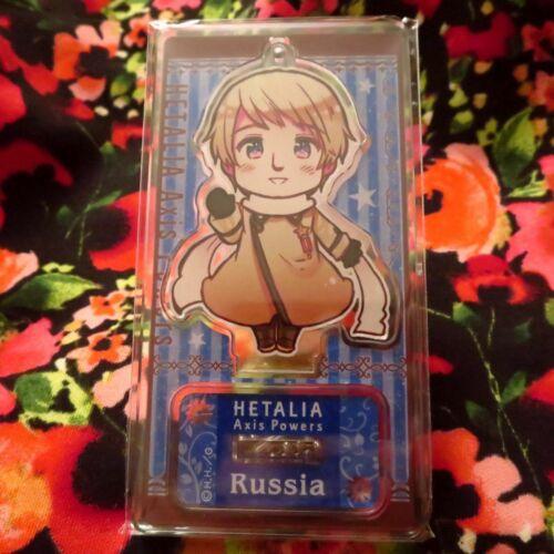 Belarus Russia Germania Monaco Axis Powers Hetalia Acrylic Keychain Stand