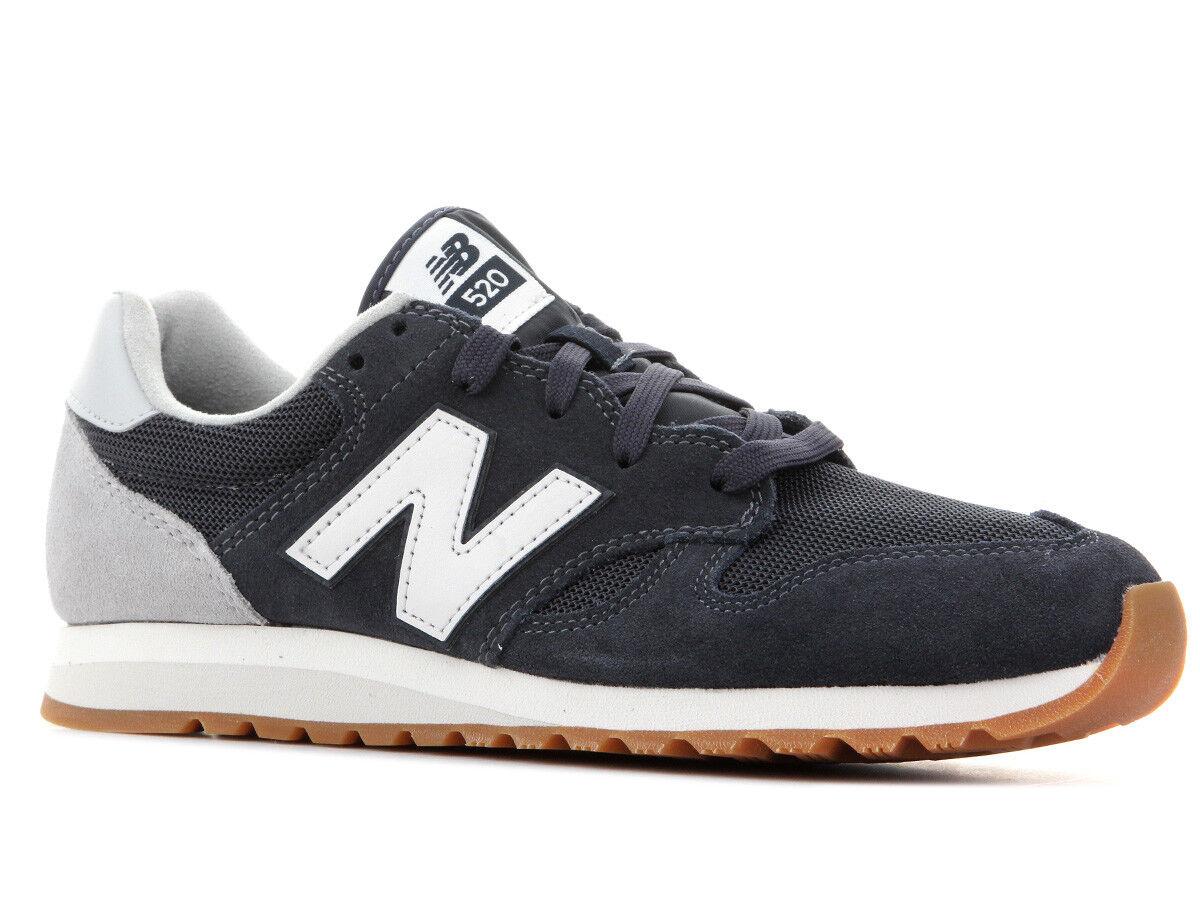 New Balance 520 Navy Navy White Gum Men's shoes Lifestyle U520AK