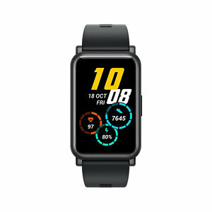 HONOR Watch ES 1.64'' Touchscreen 46mm Smart Watch AMOLED Colour Screen Black