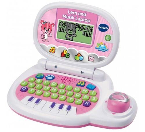 weiß//pink, ab 2 Jahre Lerncomputer Vtech Lern und Musik Laptop