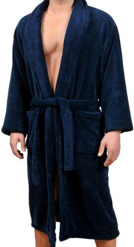 Wanted Men/'s Micro Fleece Bathrobe
