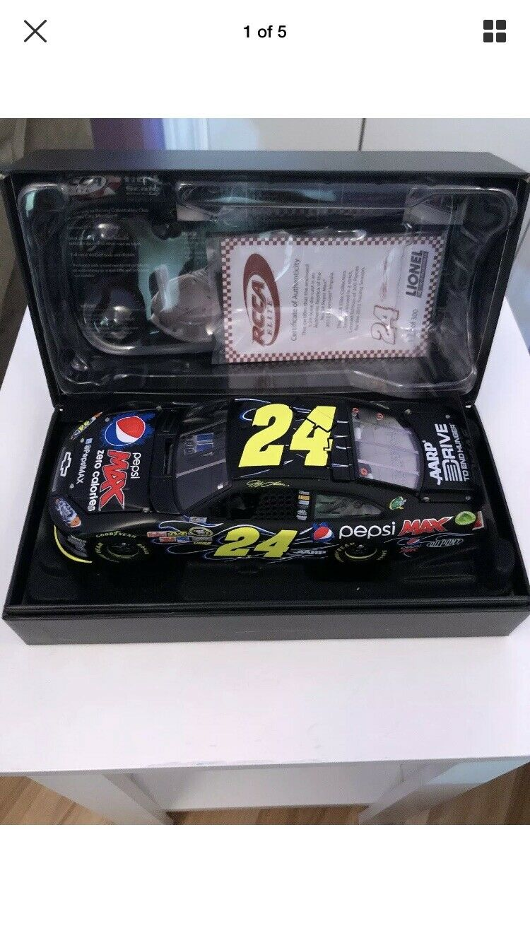 2012 Jeff Gordon Elite Pepsi Max And 2012 AARP Elite