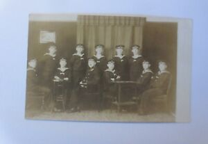Photo-Navy-Matrosen-Navy-Post-1-Komp-Werftdivision-1915-43191
