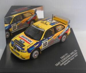 Skid-1-43-escala-Diecast-Modelo-SKM101-SEAT-CORDOBA-WRC-GARDEMEISTER-Finlandia-99
