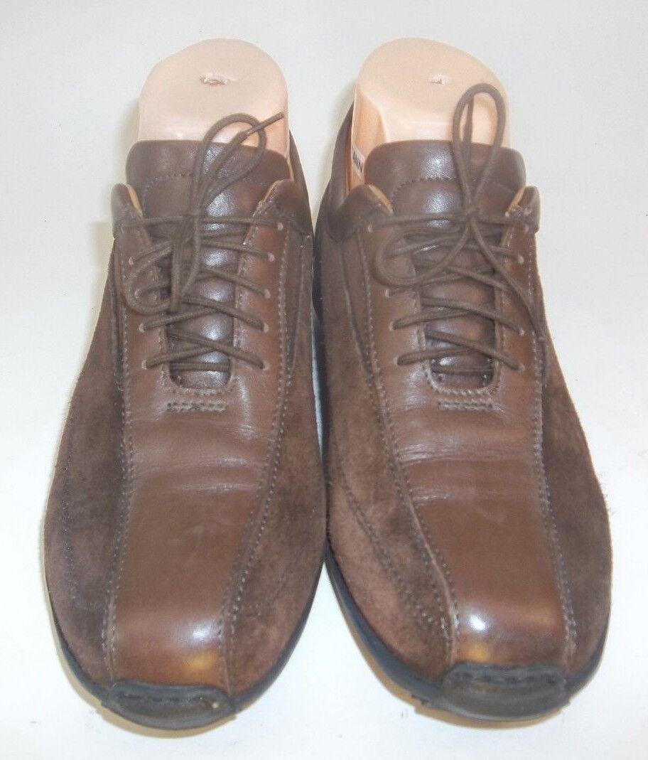 Attiva 4705 Wos Oxfords Walking Schuhes Brue EU37 Braun Lace Leder Suede Lace Braun 4610 45a08a