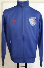 ENYIMBA INTERNATIONAL OF NIGERIA BLUE TRACK JACKET ADIDAS ADULTS SIZE SMALL BNWT