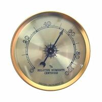 Analog Hygrometer By Western Humidor Free Shipping