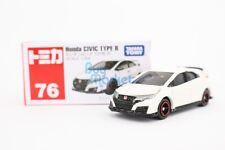 Takara Tomy Tomica #76 Honda Civic Type R White 1/64 Mini Diecast Toy Car