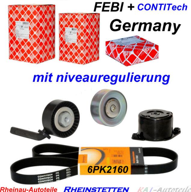 CONTI 6PK2160+Keilrippenriemensatz  5 E60 E61 6  E63 E64 7 E65, E66, E67
