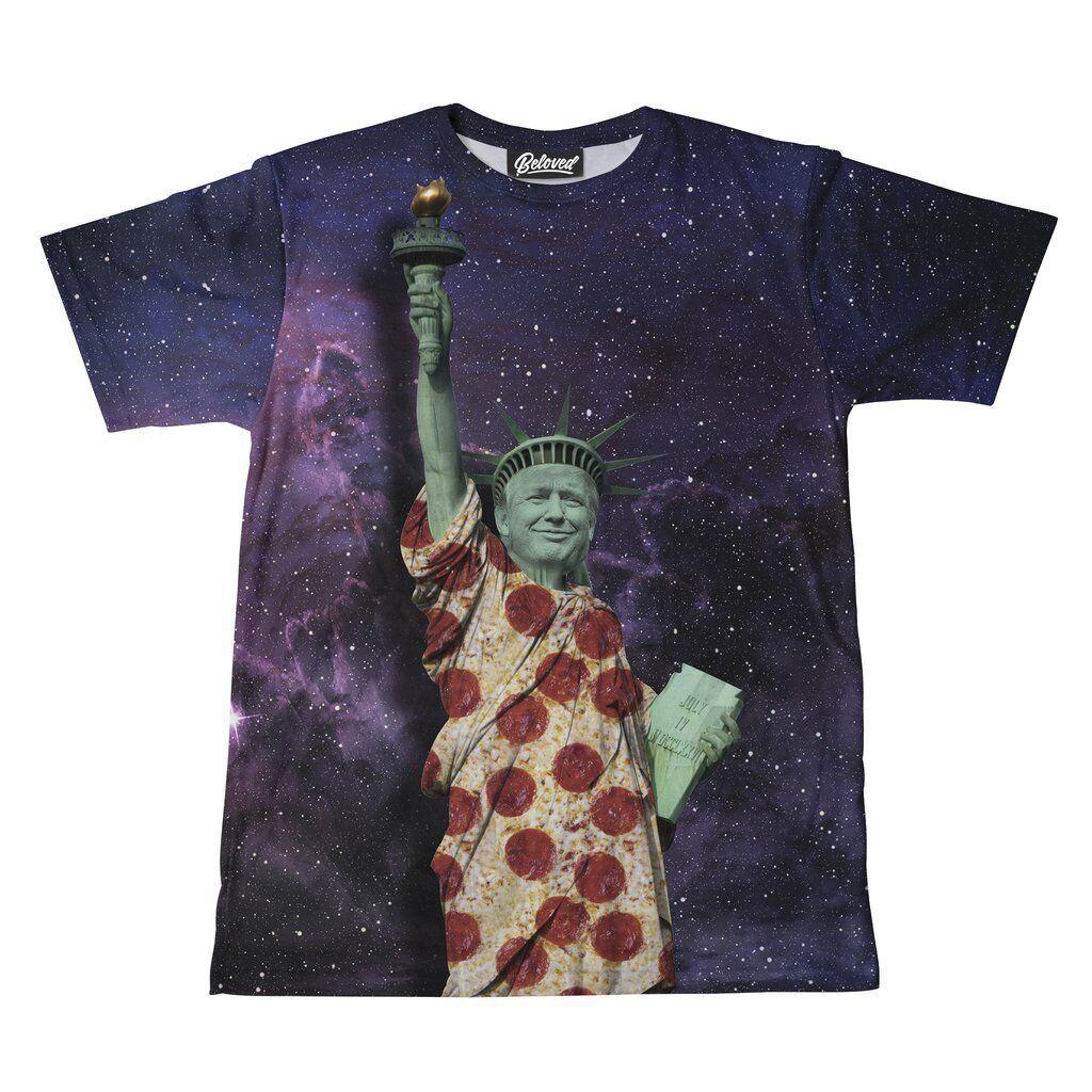 Neu W W W Etiketten Beloved Statue von Trump T-Shirt SMALL-3XLARGE Hand Hergestellt | Gute Qualität  04bf5a