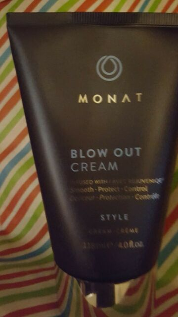 BLOW OUT CREAM 4 OZ  Monet Monat infused w Rejuvenique Full Size New Sealed