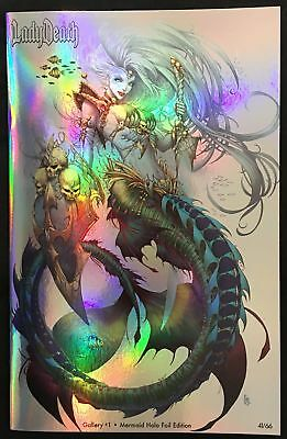 Lady Death Galley #1 ~ Mermaid Holofoil Edition ~ Coffin Comics ~ SDCC 2017