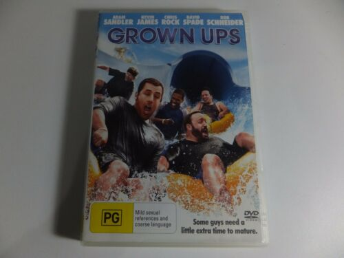 1 of 1 - Grown Ups - DVD - R4 - 2010 - edc