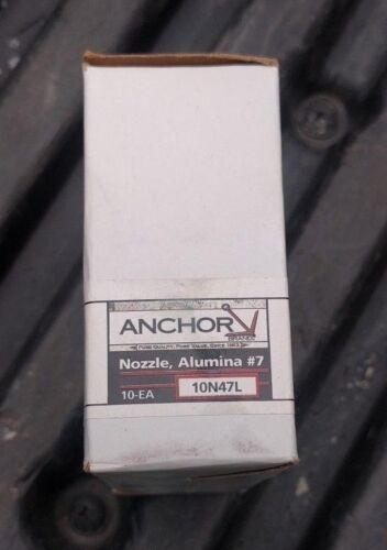 "TIG Welding 10N47L #7 Long Ceramic Cup Gas Lens Nozzle 7//16/"" 17 18 26 10 Pack"