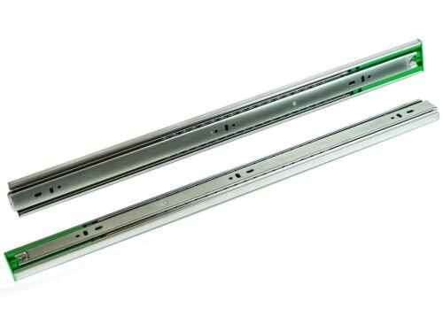 Push to Open Ball Bearing 15 pair Full Extension Drawer Slides 10-24 Inch.