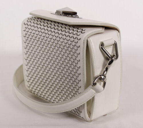 Details about  /NEW ALEXANDER MCQUEEN Box 16 Leather Convertible Crossbody Bag