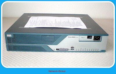 Franco Cisco 3825-sec/k9 Integrated Service Router 512mbr 128mbf Funzione Testato-ft It-it Ultima Tecnologia