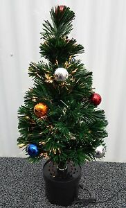 5ft Green Fibre Optic Christmas Tree