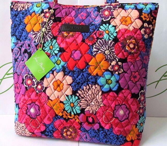 Vera Bradley Tote Floral Fiesta 15821 Multi-color For Sale