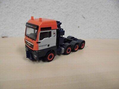 """MAN TGX XXL Schwerlast-Zugmaschine /""""Universal Transporte/"""" 1:87 Herpa"""