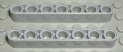 Lego Technic Lochbalken 1x7 new Grau 2 Stück 1682