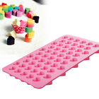 Silicone 55 Heart Cookies Baking Mould Cake Chocolate Ice Cube Jelly Mold Tray