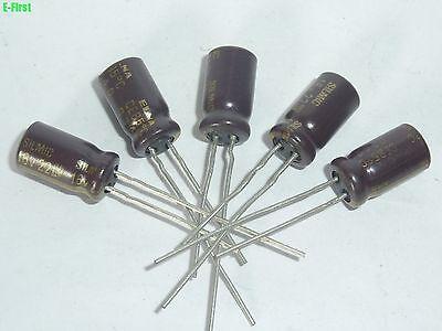 10 PCS NICHICON 10uF 100V CAPACITOR 6.3x11mm 85℃