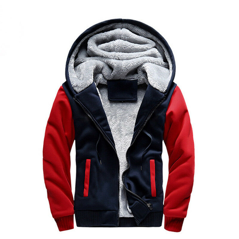 Casual Abrigo Prendas de abrigo Para Hombre cálida con con con Capucha Abrigo Deportes Prendas con capucha Chaqueta Grueso 9d1744