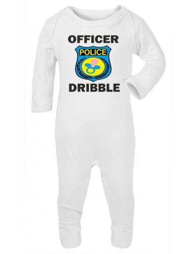 Drôle bébé surpyjama Douche Cadeau vêtements garçons filles officier Dribble