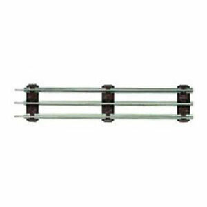 LIONEL TRAINS TRADITIONAL O GAUGE TUBULAR HALF STRAIGHT TRACK 4 PIECES Track O Scale