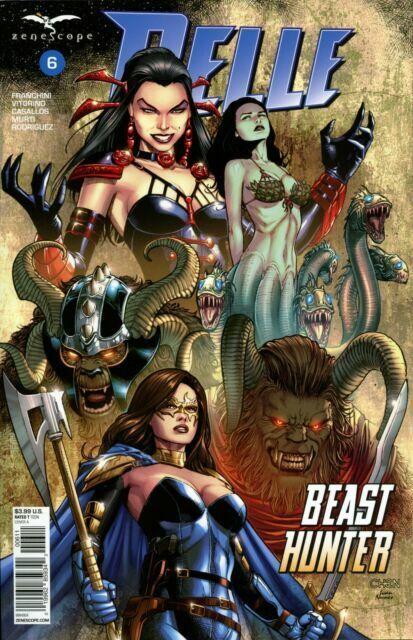 Belle Beast Hunter #1 Cover A NM 2018 Zenescope Vault 35