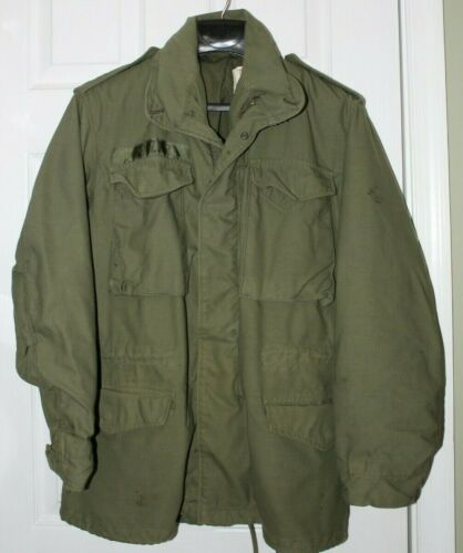 Vintage Alpha Industries Military Field Jacket RN