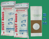 10 Hoover Vacuum Bag Style R 4010063r 43655095 Sprint & Tempo Portapower Ii Ptp