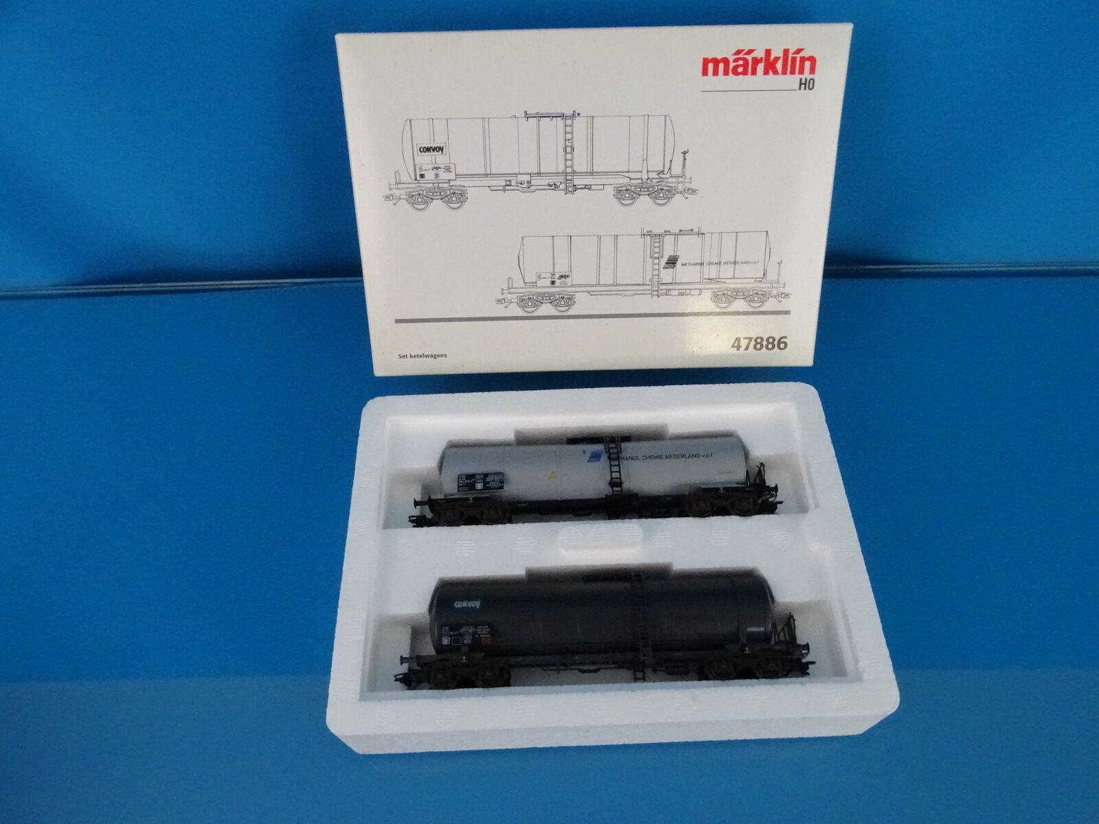 Marklin 47886 NS Tanker Car set NS