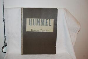 KONZERT-OPUS-85-J-N-HUMMEL-SHEET-MUSIC-LEIPZIG-C-F-PETERS