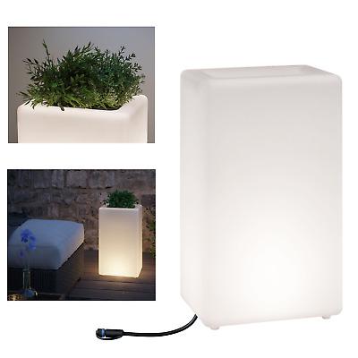 Paulmann Plug/&Shine Lichtobjekt Plant Blumenkübel LED IP67 dimmbar beleuchtet