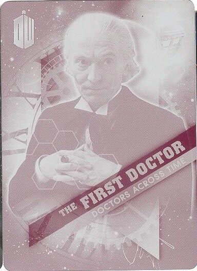 2016 Doctor Who Timeless Doctors Across Time 1 of 13 Magenta Printing Plate 1/1