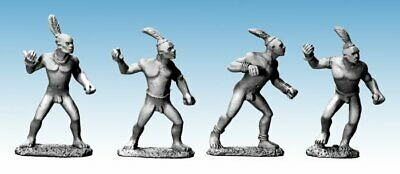 Copplestone Castings AF16-1 3//32in High Adventure Dinka Spearmen I