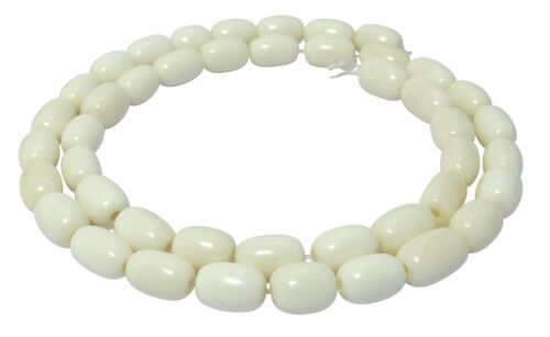 Os-perles olives environ 10x6 mm nature perles strang kno-14