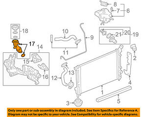 diagram for 2006 chevy uplander engine chevrolet gm oem 06 08 uplander 3 9l v6 radiator filler tube  chevrolet gm oem 06 08 uplander 3 9l v6