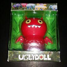 Uglydoll Red ICE-BAT Kaiju Vinyl Figure David Horvath DUNNY Sun Kim GIANT ROBOT