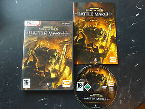 Warhammer-Battle-March-Expansion-PC-DVD-Strategie-exige-Mark-of-Chaos-pour-jouer