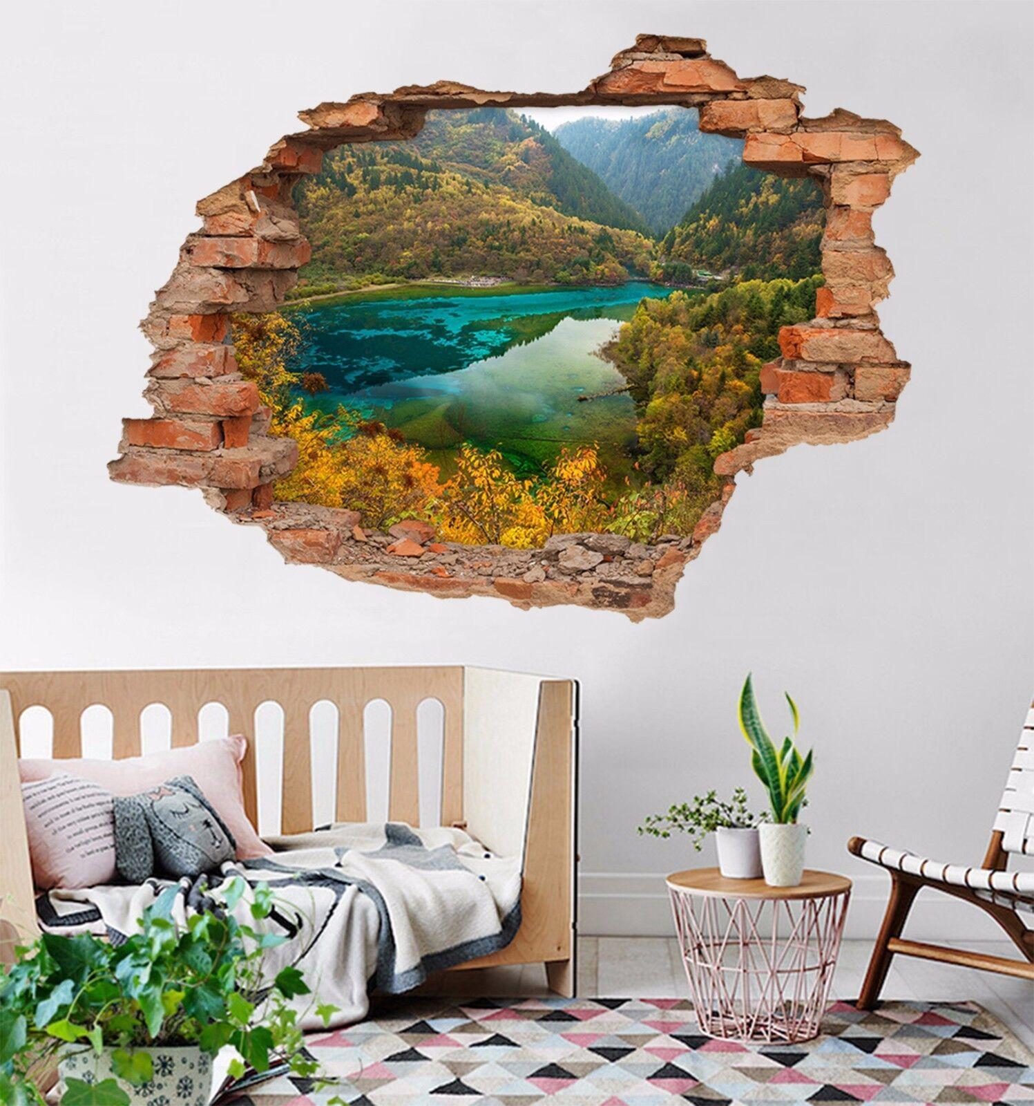 3D Natur Fluss 7444 Mauer Murals Mauer Aufklebe Decal Durchbruch AJ WALLPAPER DE