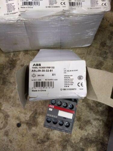 ABB 24Vdc Contactor ASL09-30-32-81