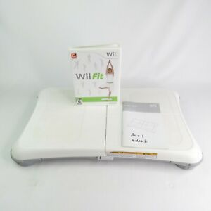 Nintendo Wii Fit Game and Balance Board  Tested and Works FAST SHIPPING