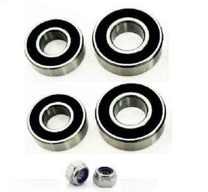 4-Erde-Wheel-Bearings-amp-2-Nylok-nuts-for-Erde-100-101-102-107-120-122-132-etc