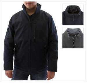 TUMI-T-Tech-Men-039-s-Waterproof-Zip-Front-Jacket-w-Standing-Collar-amp-Stowaway-Hood