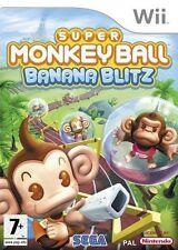 Super Monkey Ball: Banana Blitz NEW and Sealed Nintendo Wii, 2006