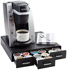 AmazonBasics Coffee Pod Storage Drawer For KCup Pods 36 Pod Capacity, New